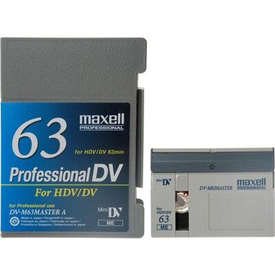 Касета за видеокамера MAXELL DVM63-PRO, 63 мин. - ML-VD-DVM63-PRO