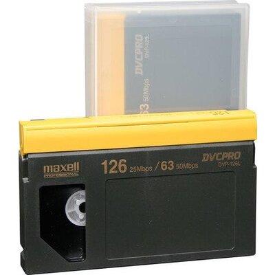 Касета за видеокамера MAXELL DVP-126L DVCPRO, 126 мин. -