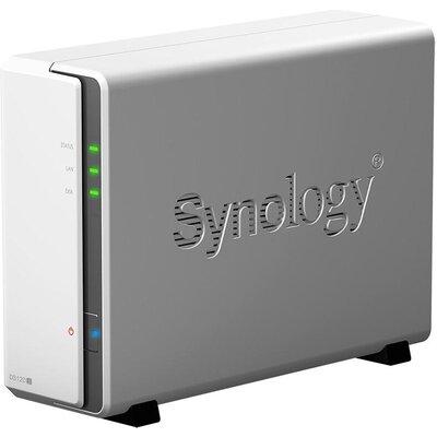 Мрежов сторидж Synology DS120j, за 1 диска, до 108TB, CPU 800 MHz, 512MB, Гигабит, USB2.0