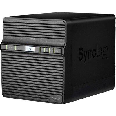 Мрежов сторидж Synology DS420J, за 4 диска, до 64TB, CPU 1.4 GHz, 1GB, Гигабит, USB3.0