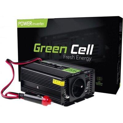 Инвертор GREEN CELL 12V/150W