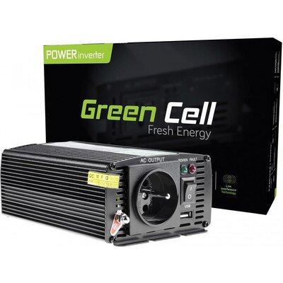 Инвертор GREEN CELL 24V/300W