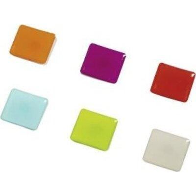 "Цветни магнити ""Square"", 6 бр. - 57607"