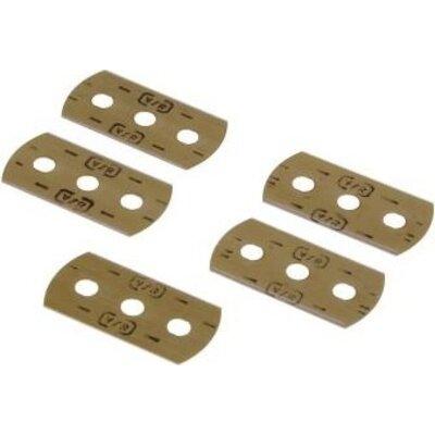 Резервни остриета за шпатула Xavax, за почистване на керамични плотове, 5 броя -