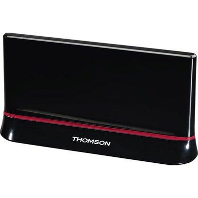 Вътрешна антена HAMA Thomson ANT1487, HDTV/3D, DVB-T/T2, TV симулатор, Черен
