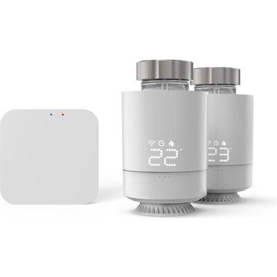 Смарт контрол WLAN система за отопление HAMA 2 бр. термо глави, контролен пулт