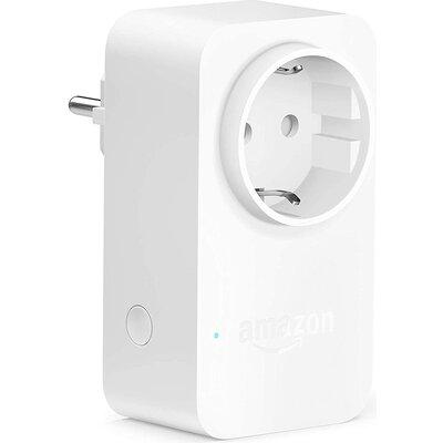 Смарт контакт Amazon Smart Plug, за Amazon Alexa, Бял