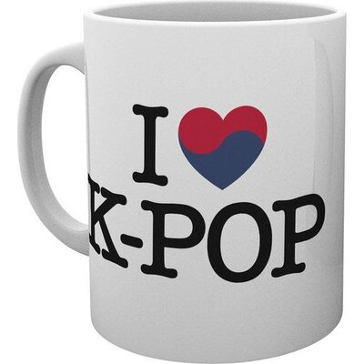 Чаша GBEye K-POP - Heart K-Pop