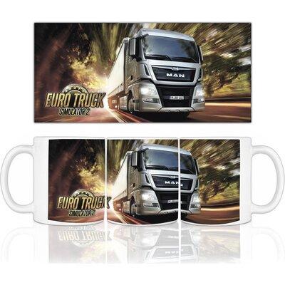 Eurotruck Simulator чаша с лого