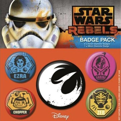 Значки Pyramid International - Star Wars - Rebels Pin Badge Pack