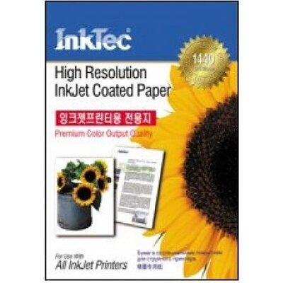 Хартия INTEC Coated Paper, 100sh, A4, 105 g/m2 - Int ITP-7210A4