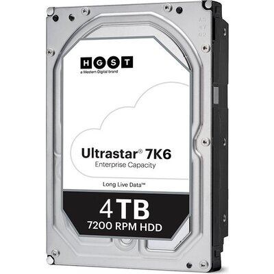 Western Digital Ultrastar DC HDD Server 7K6 (3.5'', 4TB, 256MB, 7200 RPM, SATA 6Gb/s, 512E SE), SKU: 0B36040