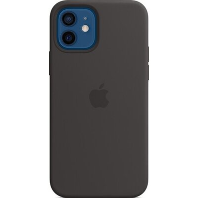 Калъф Apple iPhone 12/12 Pro Silicone Case with MagSafe - Black