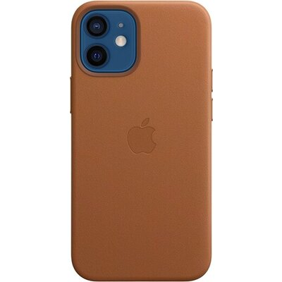 Калъф Apple iPhone 12 mini Leather Case with MagSafe - Saddle Brown