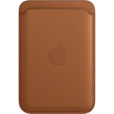Калъф Apple iPhone Leather Wallet with MagSafe - Saddle Brown