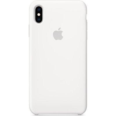Калъф Apple iPhone XS Max Silicone Case - White