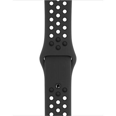 Аксесоар Apple Watch 40mm Nike Band: Anthracite/Black Nike Sport Band - S/M & M/L