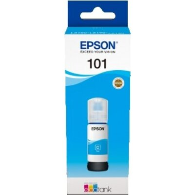 Консуматив Epson 101 EcoTank Cyan ink bottle
