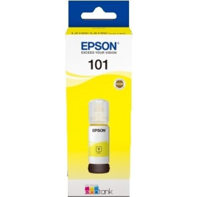 Консуматив Epson 101 EcoTank Yellow ink bottle