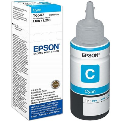 Консуматив Epson T6642 Cyan ink bottle 70ml