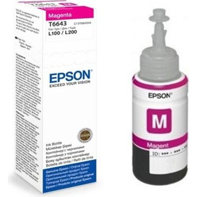 Консуматив Epson T6643 Magenta ink bottle 70ml