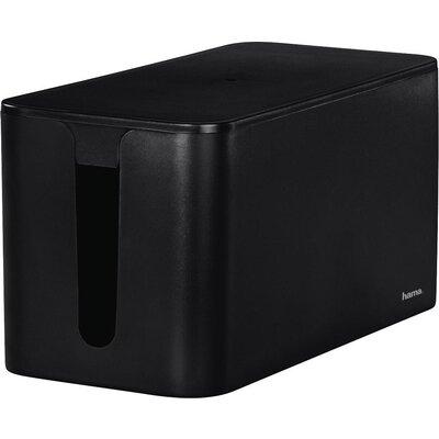 Кутия за кабели Hama Mini, Черен - 20663