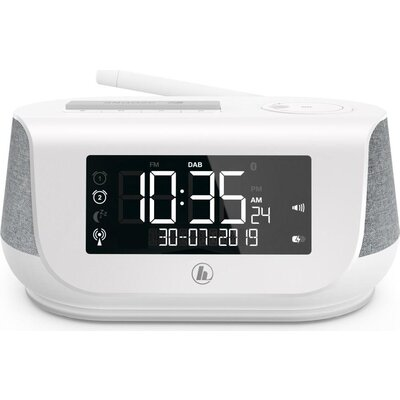Цифрово радио Hama DR36SBT, FM/DAB/DAB+/Bluetooth, Бял