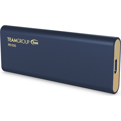 Външен Solid State Drive (SSD) Team Group PD1000 512GB, USB 3.2 Type-C - T8FED6512G0C108