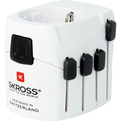 Адаптер Skross PRO 1.103141, 100-250V, 6.3А -