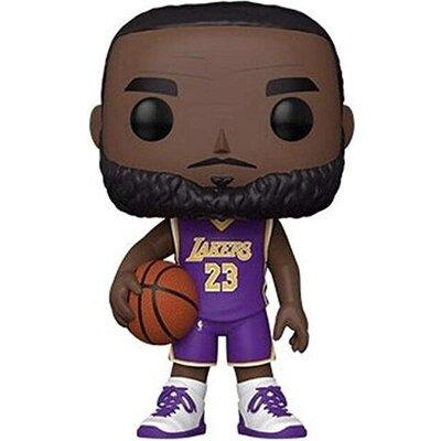 "Фигурка Funko POP! Basketball NBA: Los Angeles Lakers - LeBron James (Purple Jursey) #98, 10"""