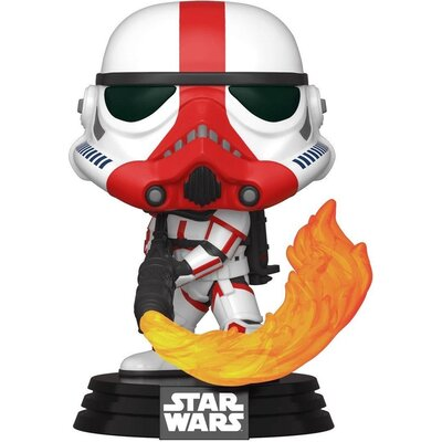Фигурка Funko POP! Star Wars: The Mandalorian - Incinerator Stormtrooper #350