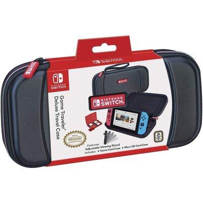 Чанта за гейминг конзола Nacon Bigben Nintendo Switch Travel Case NNS28B, Черен