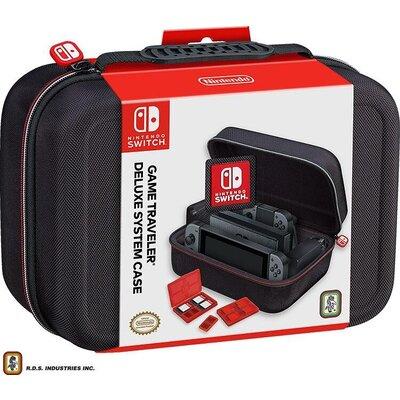 Чанта за гейминг конзола Nacon Bigben Nintendo Switch Travel Case NNS60, Черен