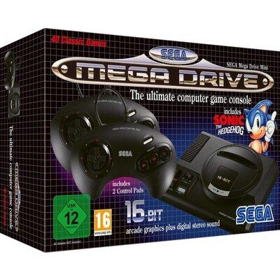 Конзола SEGA Mega Drive Mini, Черен