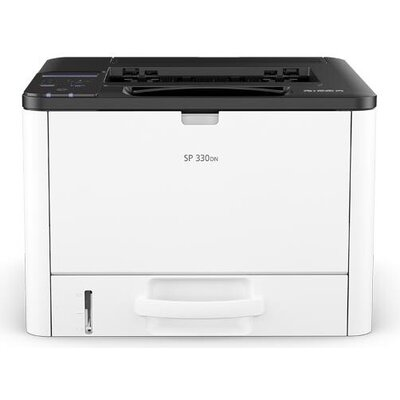 Лазерен принтер RICOH SP 330DN, USB 2.0, LAN, A4, 1200 x 1200 dpi, 32 ppm