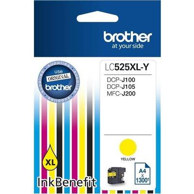 Консуматив Brother LC-525 XL Yellow Ink Cartridge High Yield