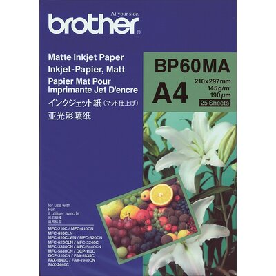 Хартия Brother BP-60 A4 Matt Photo Paper (25 sheets)