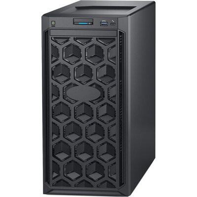 """PowerEdge T140,Intel Xeon E-2124 3.3GHz 8M cache 4C/4T,3.5"""" Chassis up to 4 Cabled HDD,8GB 2666MT/s DDR4 ECC UDIMM,iDrac9 B"""