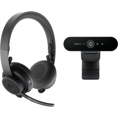 LOGITECH Pro Personal Video Collaboration Kit (Zone Wireless + BRIO)