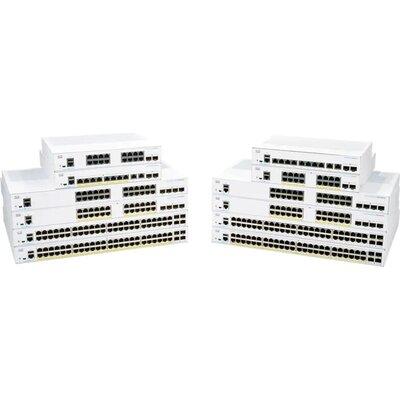 Комутатор Cisco CBS350 Managed 24-port SFP, 4x1G SFP