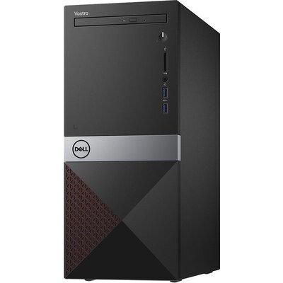 Dell Vostro 3670, Intel Core i3-8100 (3.60GHz, 6MB), 4GB 2666MHz DDR4, 1TB HDD, DVD+/-RW, Intel UHD 630, 802.11n, BT 4.0, Keyboa