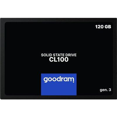 """GOODRAM CL100 GEN. 3 120GB SSD, 2.5"""" 7mm, SATA 6 Gb/s, Read/Write: 500 / 360 MB/s"""