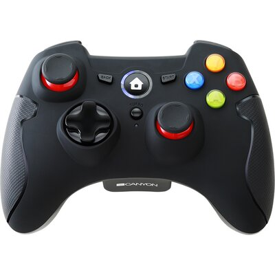 2.4G Wireless  Controller with Dual Motor, Rubber coating,    2PCS AA Alkaline battery   ,support  PC X-input mode/D-input mode,