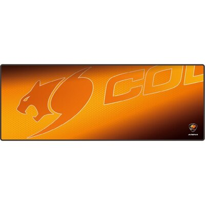 COUGAR ARENA Orange Gaming Mouse Pad, Width (mm/inch) 800/31.49, Length(mm/inch) 300/11.81,Thickness (mm/inch) 5/0.19,Surface Ma