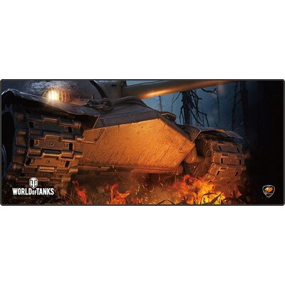 COUGAR Arena World of Tanks, Gaming Mouse Pad, Width (mm/inch) 800/31.49, Length(mm/inch) 300/11.81,Thickness (mm/inch) 5/0.19,S