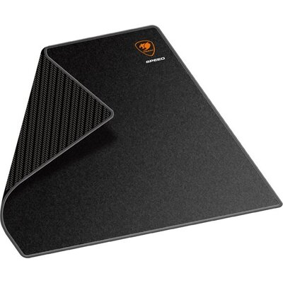 COUGAR SPEED 2-L Gaming Mouse Pad,Width(mm/inch)-450/17.7,Length(mm/inch)-400/15.7,Thickness(mm/inch)-5/0.19,Surface Material-Cl