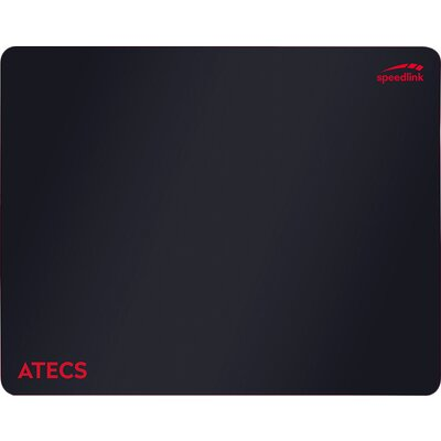 Speedlink ATECS Soft Gaming Mousepad - Size M, 38cm long, 30cm wide, 0.3cm thick, black
