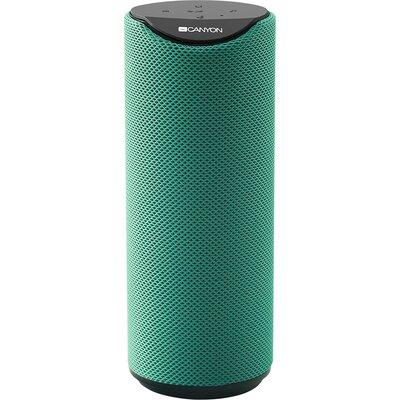 CANYON Bluetooth Speaker, BT V5.0, Jieli AC6925B, Built in microphone, TF card support, 3.5mm AUX, micro-USB port, 1200mAh polym