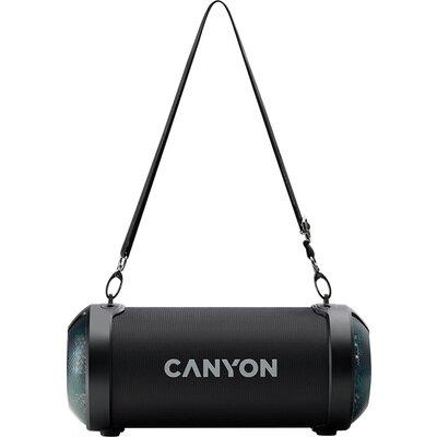 Canyon BSP-7 Bluetooth Speaker, BT V5.0, Jieli JLAC6925B, 3.5mm AUX, 1*USB-A port, micro-USB port, 1500mAh lithium ion battery,