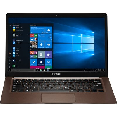"Prestigio SmartBook 141 C3, 14.1"" (1366*768) TN, Windows 10 Home (English), up to 1.92GHz Quad Core Intel Atom Z8350, 2GB D"